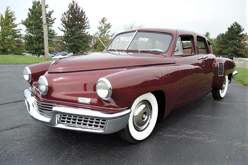 This Tucker is said to be No. 46 of the 51 sedans produced
