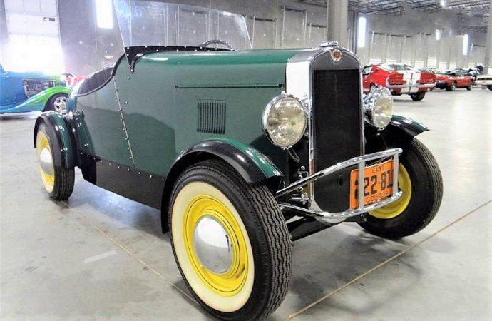 Rare, sporty 1937 Austin Boattail Speedster minicar prototype