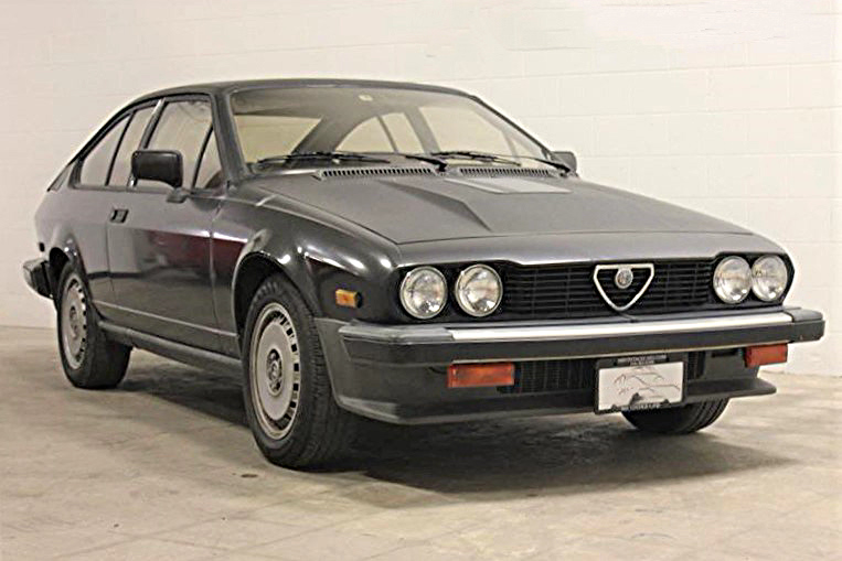 The Alfa Romeo GTV 6 has been driven just 62,000 miles