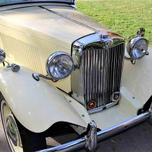 Pure sports car 1951 MG TD