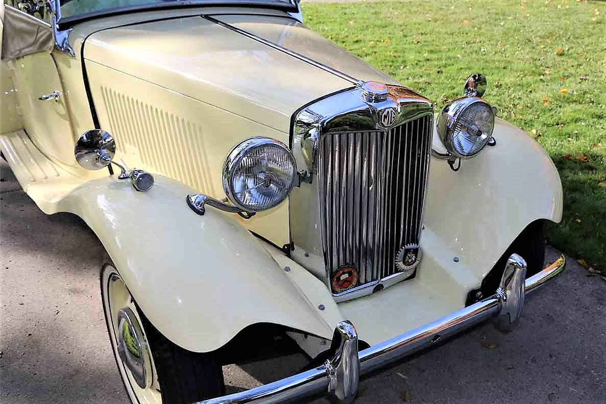 The MG TD introduced Americans to British sports cars