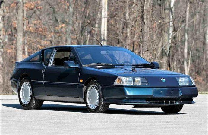 Rare import Renault Alpine GTA