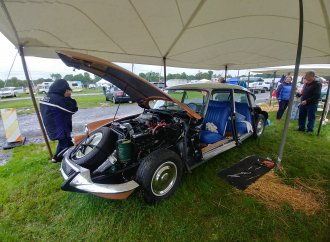 Jaguar, Citroen and Saab shine at Carlisle, despite the weather