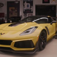 2019 Chevrolet Corvette ZR1 roars into 'Jay Leno's Garage'