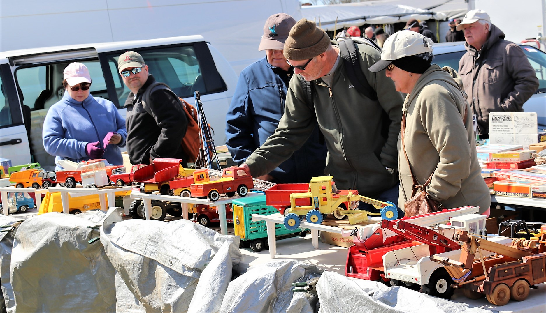 Vintage car toys attract a crowd | Carlisle Events