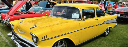 Classic Chevys show supports youth — and crowns a Ford