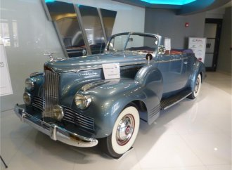 The last pre-war Packard?