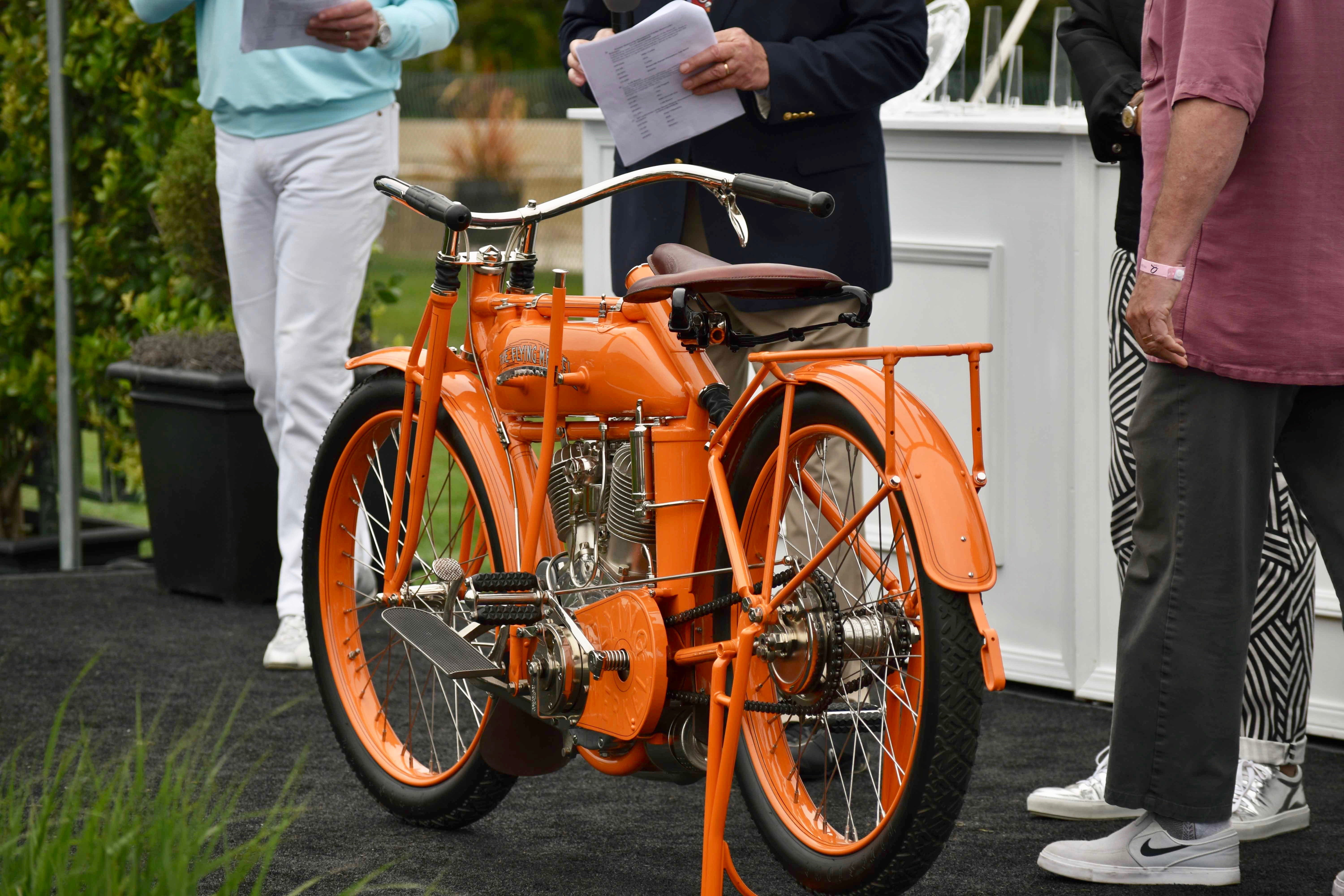 Flying Merkel, 1913 Flying Merkel Twin takes Best of Show at The Quail, ClassicCars.com Journal