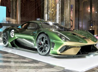 Brabham is back on track with the unveiling of an all-new race car