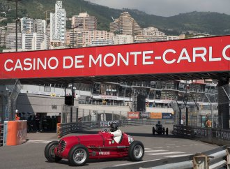 Maserati at Monaco: Vintage vehicles at the Historique races