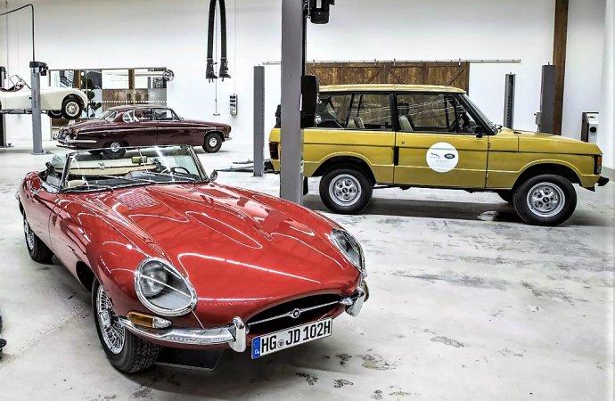 Jaguar Land Rover Classic opens German dealership, repair facility