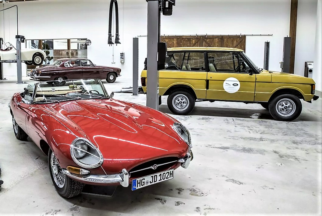 The German site specializes in all aspects of vintage Jaguars and Land Rovers | Jaguar Land Rover Classic