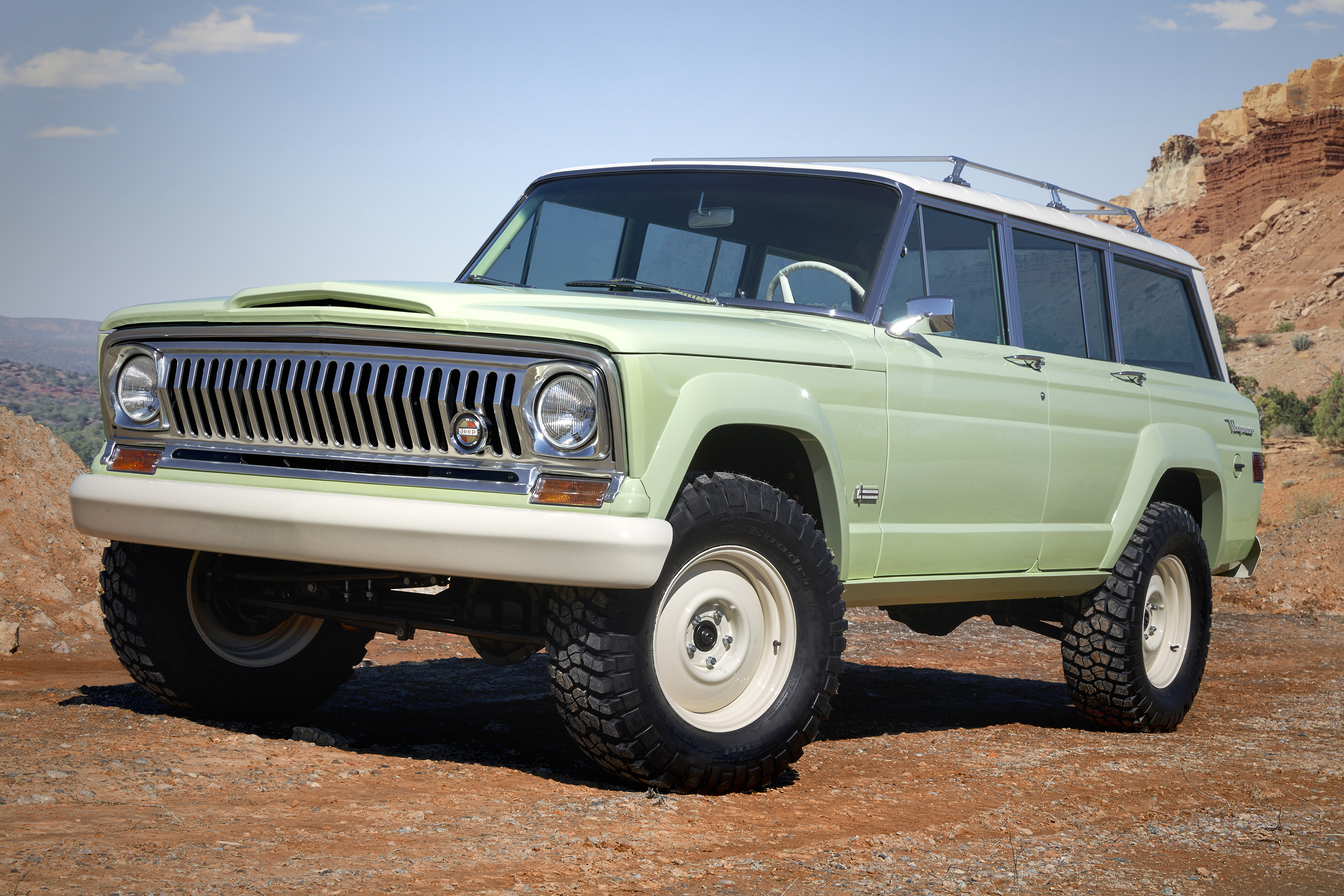 The Jeep Wagoneer Roadtrip Concept will be shown at the Cars and Coffee | FCA