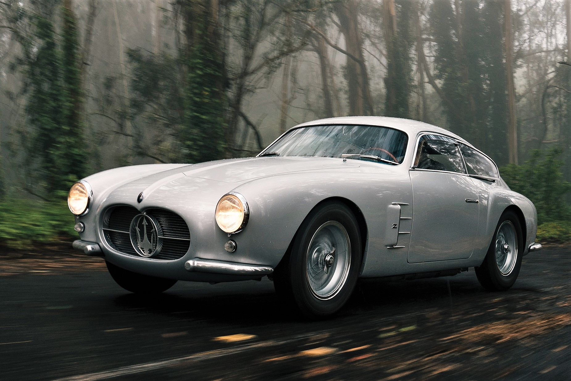 The Maserati wears an aerodynamic alloy body by Zagato | RM Sotheby's photos
