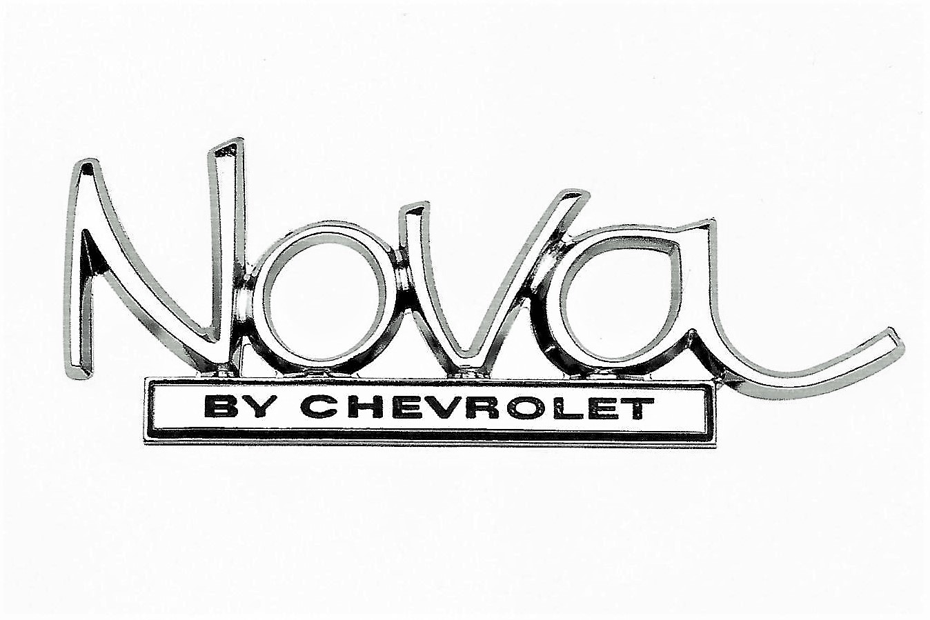 The Nova emblem is correct for 1968-72 models
