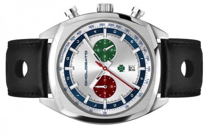Quadrifoglio watch honors Alfa emblem
