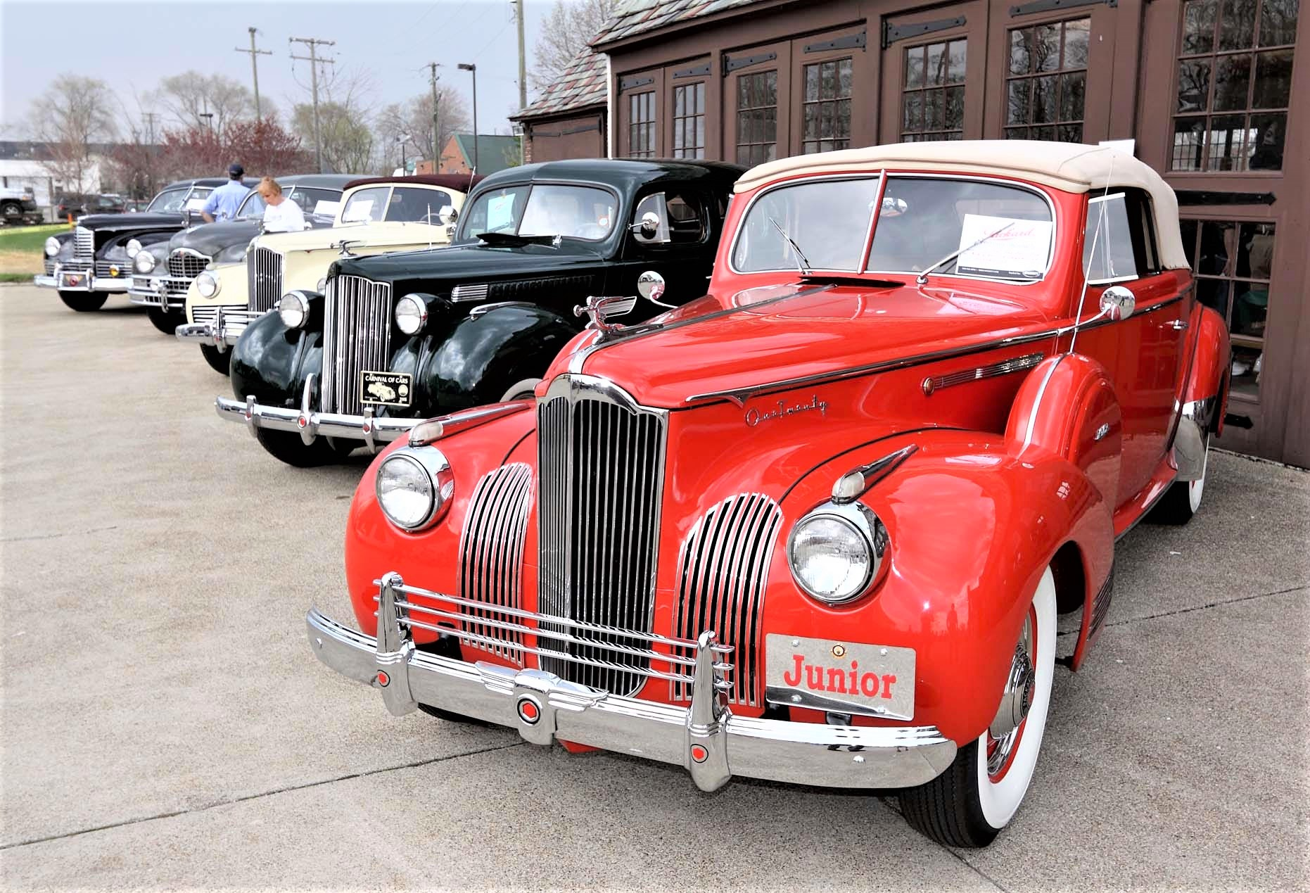 car show Classic Packards on display at the Packard Proving Grounds | Cars R Stars