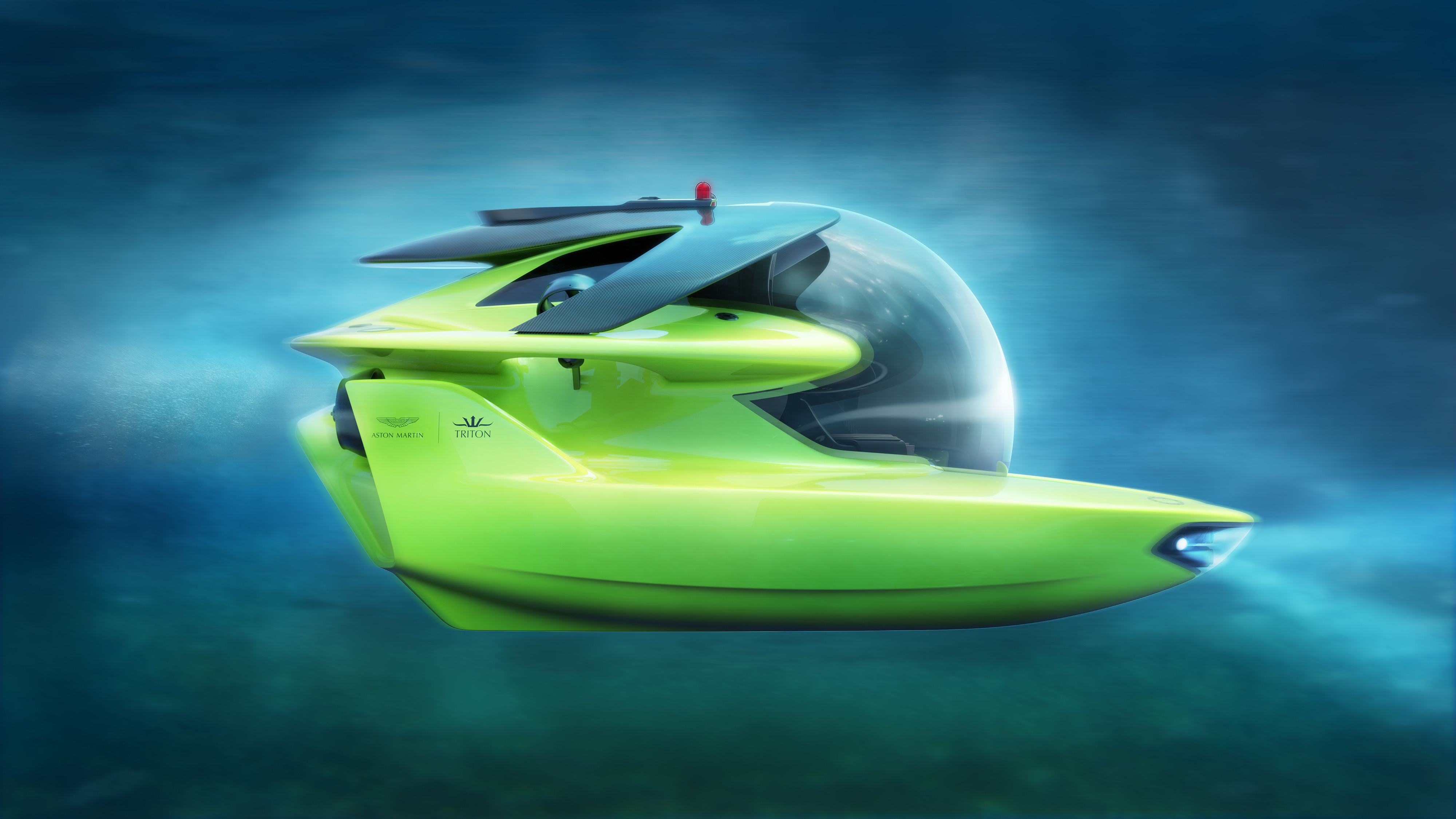 Submercible, Q trumped: Aston Martin and partner set production of three-person submersible, ClassicCars.com Journal
