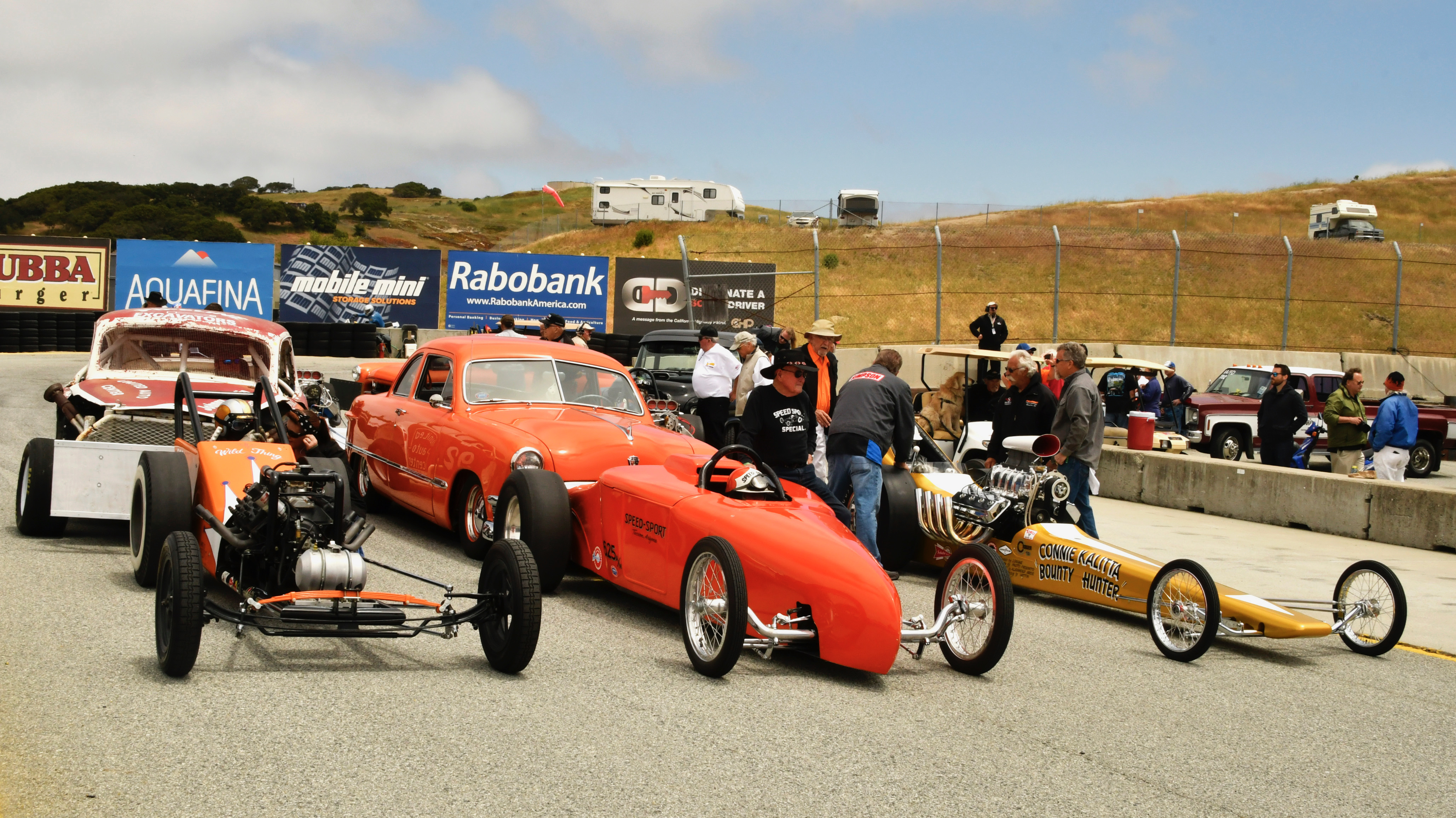 Nitro Revival, Nitro Revival at Laguna Seca: Heaven for for the cackle crowd, ClassicCars.com Journal