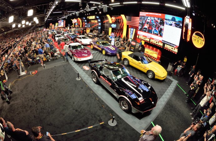 Mecum's Indy auction does a record $69.4 million