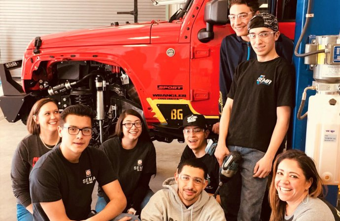 SEMA expanding support for high school builds, will fund five projects