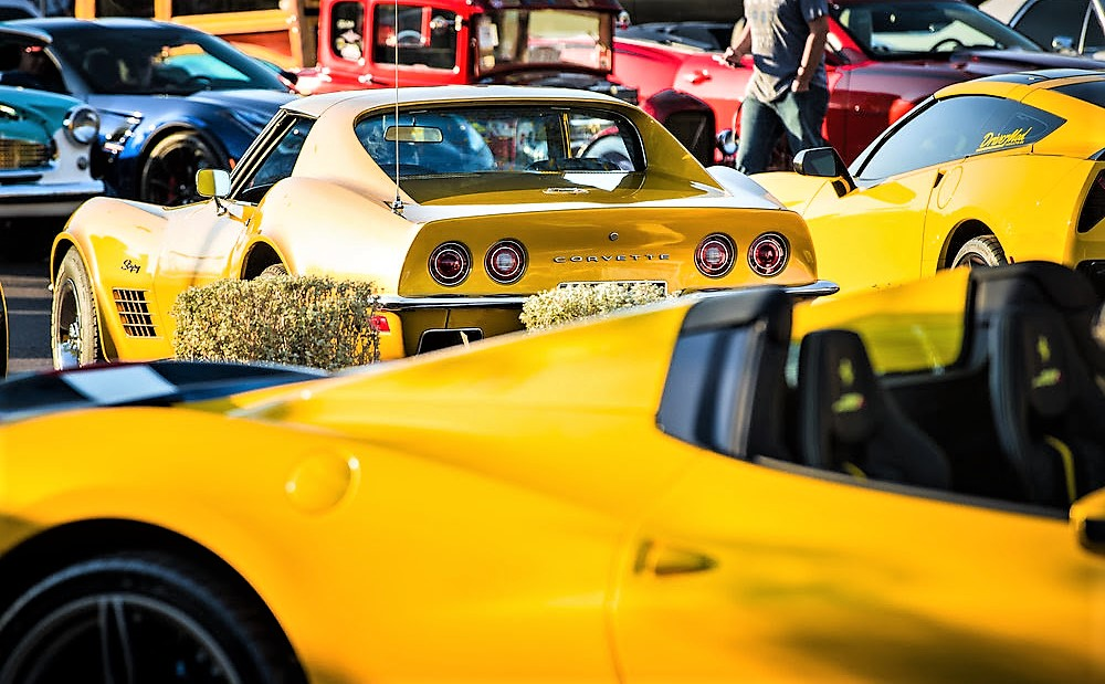 Yellow cars celebrate Mom in Scottsdale | Scuderia Southwest