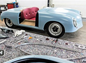 Exact duplicate: First Porsche 356 re-creation on worldwide tour