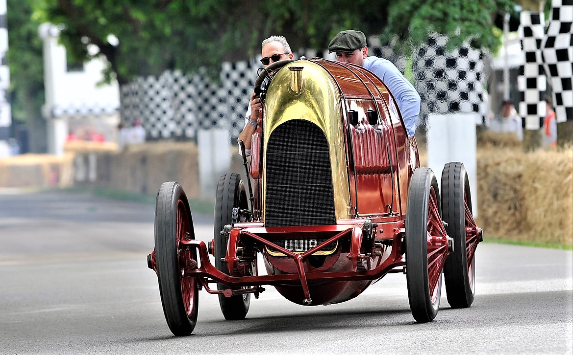 The Fiat speed-record car of 1911 was called the Beast of Turin with good reason | London Concours