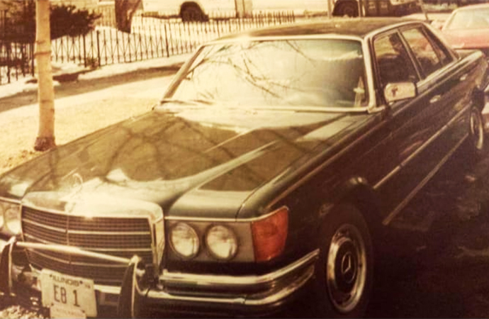 Father's Day: Grandpa's car led to lifelong Mercedes obsession