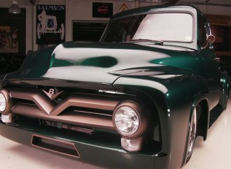 Classic Car Studio shares its 1953 Ford F100 with Jay Leno