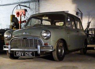 Time-capsule Mini going to auction