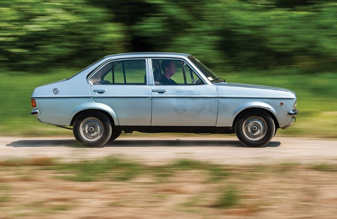 This 1976 Ford Escort 1100 GL sedan was the last car owned by Pope Saint John Paul II before he was elected to the Papacy in 1978. It will be sold at an auction over Labor Day weekend. | RM Sotheby's Photo