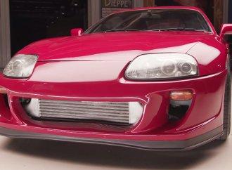 Cody Walker brings a Toyota Supra to 'Jay Leno's Garage'