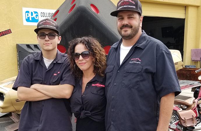 Arizona shop leading way for women in auto body field