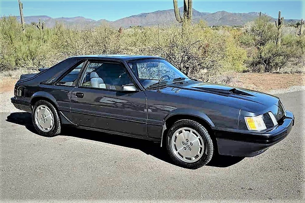 Sly Fox 1984 Ford Mustang SVO turbo coupe for sale