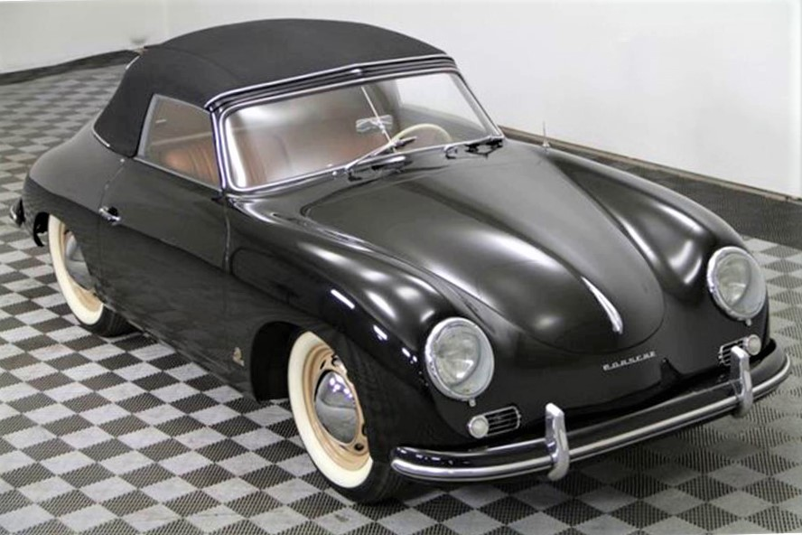 The Porsche 356 is said to be completely restored and 'show ready'