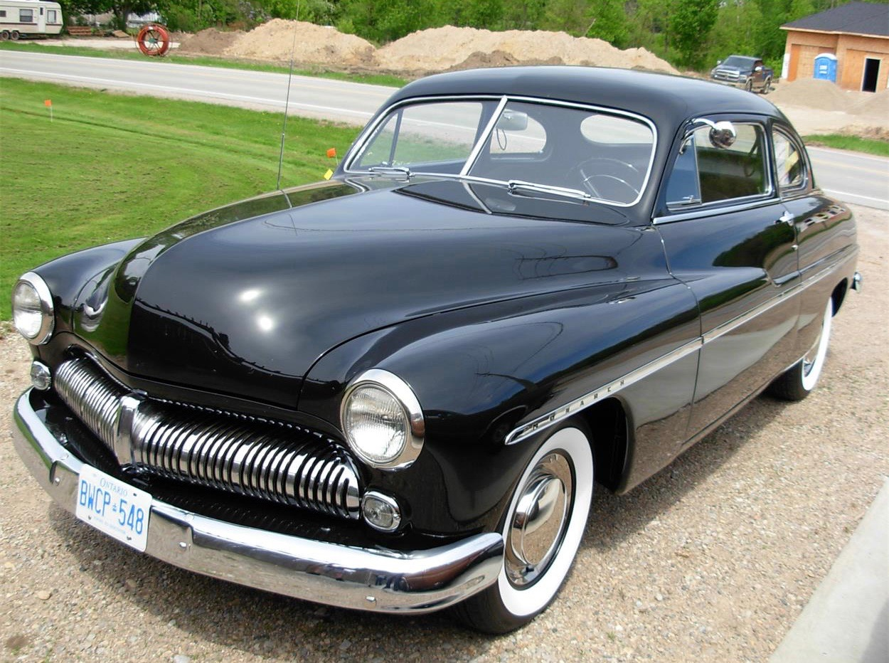 1949 Mercury Monarch. If tariff passed, the buyer would have to pay an extra $14,000.