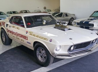 Earliest known Mustang Boss 429 with famous drag-racing history