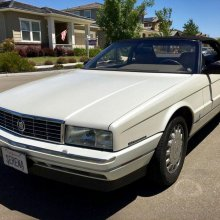 One-owner, low-mileage '93 Allante
