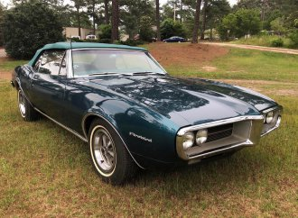 Barn-found '67 Firebird convertible
