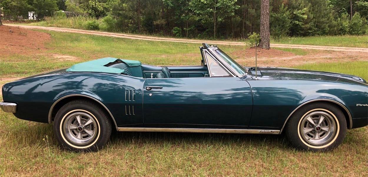 1967 Pontiac Firebird, Barn-found '67 Firebird convertible, ClassicCars.com Journal
