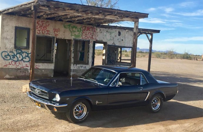 Barn-found but restored '65 Mustang