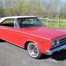 Restored 1967 Plymouth hardtop
