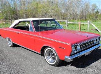 Restored 1967 Plymouth hardtop