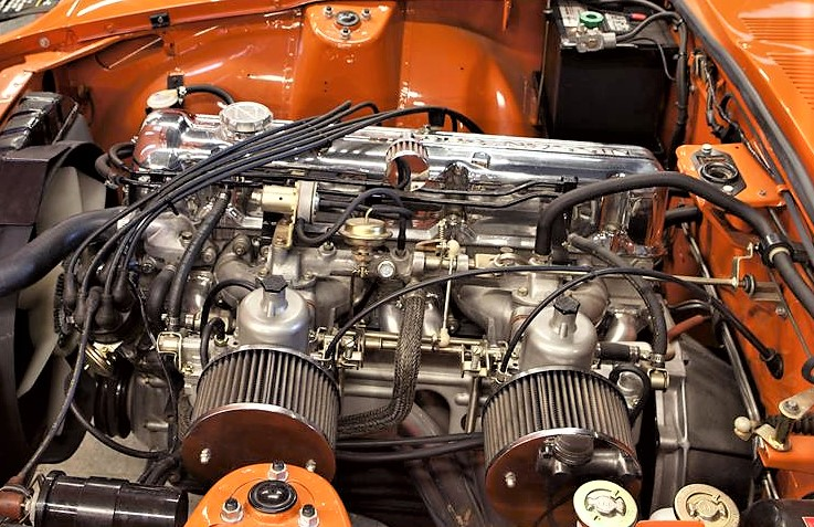 The Datsun is powered by a strong and flexible SOHC straight-6 engine