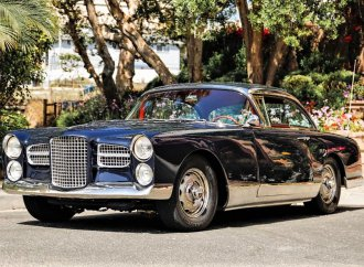 Chrysler V8-powered French GT 1961 Facel Vega HK500