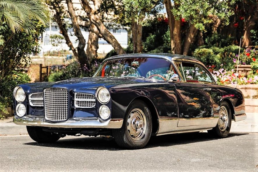 The Facel Vega is a large and powerful GT