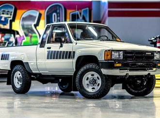 Clean original 1985 Toyota pickup