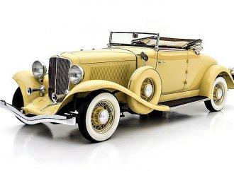 Art Deco classic cabriolet: 1933 Auburn 8-105