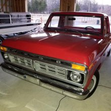 '76 Ford pickup has been driven only 8,625.2 miles